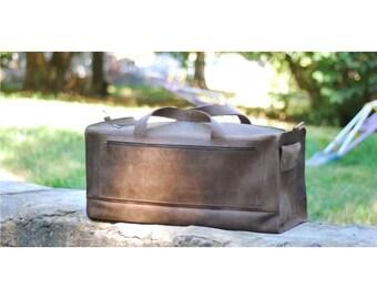 Large Travel Bag, Handmade Travel Bags Satchel, Men's Bag, Travel Bags, Messenger Bag, Mens Travel Bags, Time Travel Bag