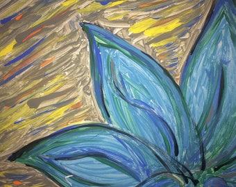 Blue Sun Lily