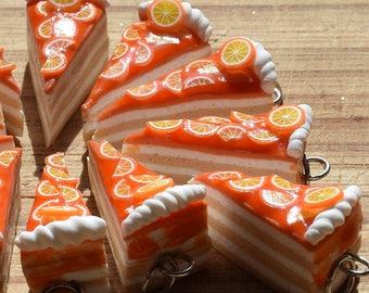 Tangerines Cake Pendant