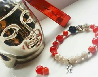 The Confident Spirit Beaded Buddha Bracelet