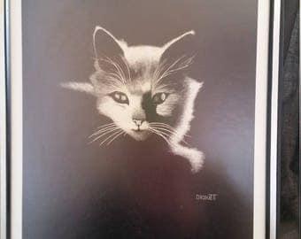 "Print ""Isis"" by American Artist Rudi Droguett"