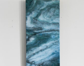 Abstract Resin Painting