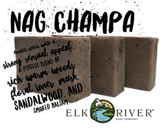 FREE SHIPPING Nag Champa Handmade Soap