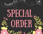 Special Listing For a Special Person