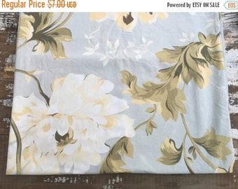 40% OFF- Romantic Garden Fabric-Reclaimed Bed Linens-