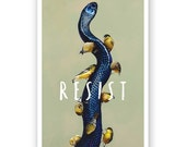 Resist Poster - Bird - Nature - Animals - Gift