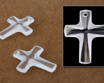 Swarovski 6860 16mm x 20mm Crystal Cross Pendant