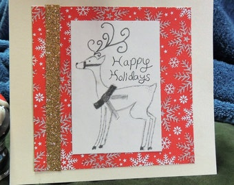 Original Homemade Holiday Card
