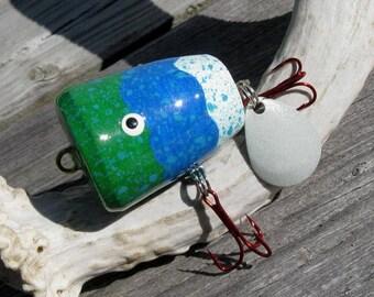 Driftwood Bass Fishing Popper Lure