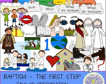 LDS Baptism Talk or Preparation Lesson
