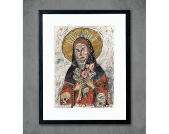 Mary of the Fields Print