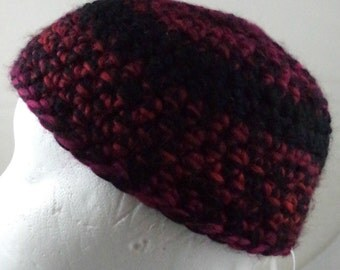 Maroon and Black Beanie (small) (SWG-HBEN-S03)