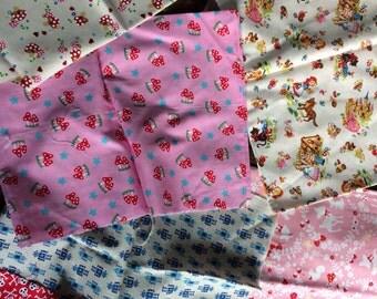 Bundle of childrens fabric