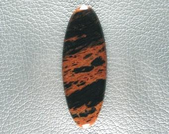 Designer Cabochon Mahogany Obsidian NAC