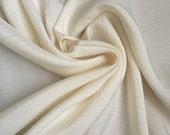"Ivory Cream 100% texture silk jacquard special occasion bridal fabric 41"" wide"