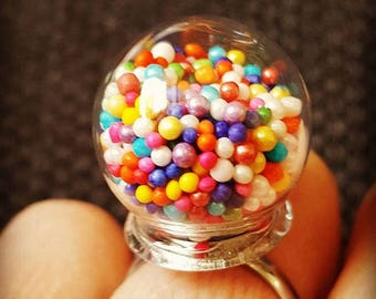 Super sweet..........3D GUMBALL MACHINE RING