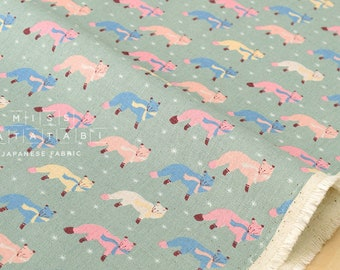 Fox Fabric Etsy