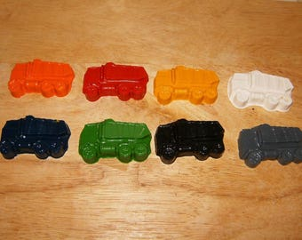 Truck's Crayons Recycled/Upcycled