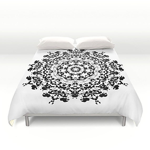 housse de couette housse de couette mandala housse de. Black Bedroom Furniture Sets. Home Design Ideas