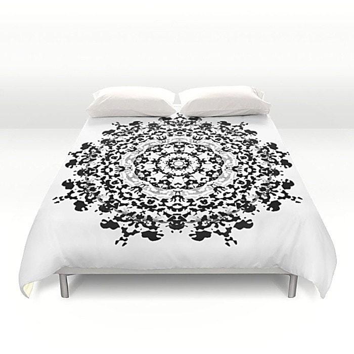 housse de couette housse de couette mandala housse de. Black Bedroom Furniture Sets. Home Design Ideas