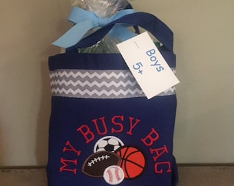 Sports Busy Bag