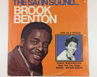 The Satin Sound...Brook Benton 2 LP [197?]