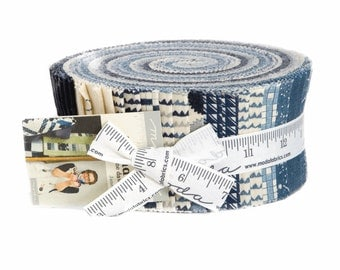 Jelly Roll -  'Aubade - A Song to the Dawn'  by Janet Clare for Moda - includes 40 pieces of fabric
