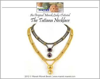 eTUTORIAL The Tatiana Necklace