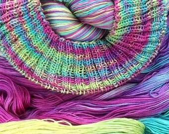 """pima cotton sock yarn - """"Sand Art"""""""