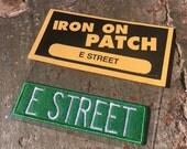 E Street - Bruce Springsteen & the E Street Band  Patch by Print Mafia®