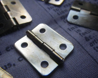 Brass Hinges 20x17mm 6 Pcs