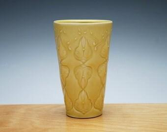 Buttercup tumbler / small vase, Victorian modern