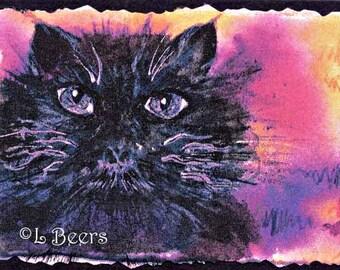 Big Eyes ... an art trading card