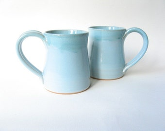 Stoneware Mugs 12 oz Set of 2