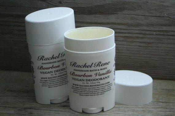 Bourbon Vanilla - Vegan Deodorant Stick 2.5oz