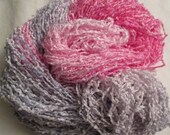 Handpainted Soft Rayon Chenille Yarn   EASTER  -  250 yds
