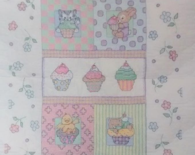 Cupcake Crib Cover