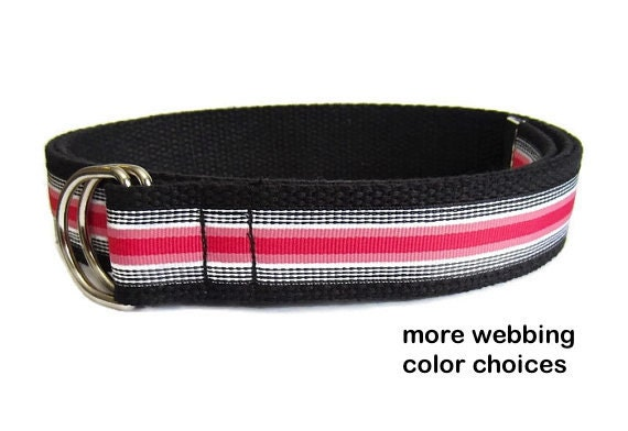 Discover the best canvas belts for men. Different material, same sliding goodness! Our canvas belts have a comfortable, laid back style that you'll love. Unique, patented ratchet-style design. One size fits most, up to a 48