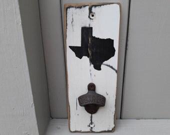 Texas Wall-Mount Bottle Opener