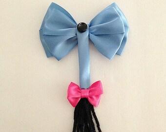 Disney inspired Eeyore hair bow