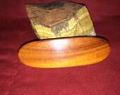 Handmade wood barrett