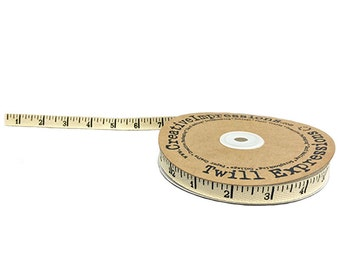 Antique Ruler Twill Tape Measure Fabric Notion 80486