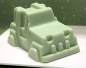 Green SUV Soap for Kids