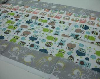 The Owls Destash Fabric Bag