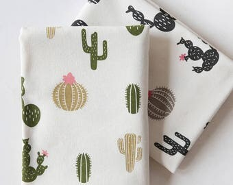 4604 - Cactus Cotton Linen Blend Fabric - 59 Inch (Width) x 1/2 Yard (Length)