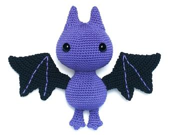 Bat amigurumi crochet pattern PDF