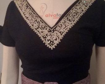 Vintage 50s fine sweater top