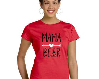 Mama Bear Mom shirt - Mother's Day Shirt - Mothers Day Shirt