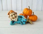 Vintage Gnome Figurine