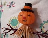 halloween pumpkin man decoration